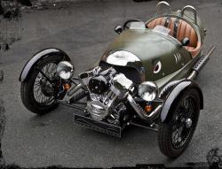 Morgan 3 Wheeler - pojazd z duszą Harley'a