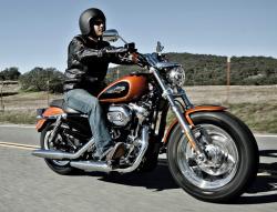 Jego szerokość Harley-Davidson 1200 Custom